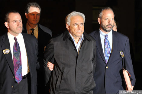 dominique strauss-kahn victim photo. Dominique Strauss-Kahn is led