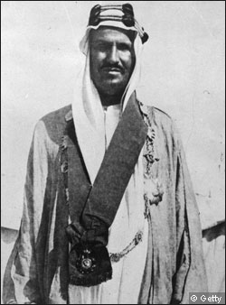 King Abdul-Aziz al-Saud of Saudi Arabia