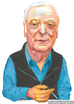 An illustration of Michael Caine