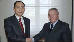 Zhan Chunxin and Maurizio Ferrari